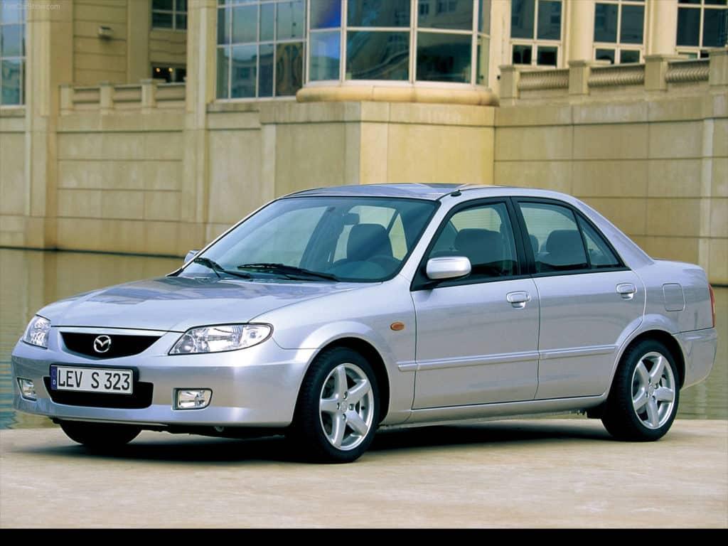 Mazda Familia тюнинг