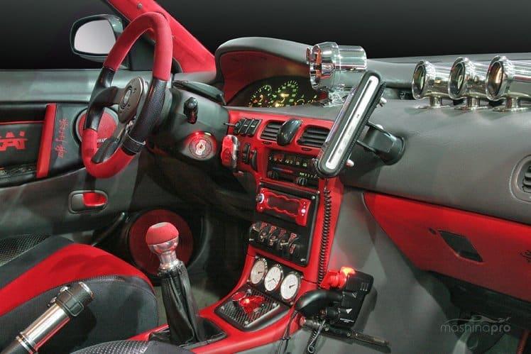 MazdaFamilia тюнинг салона