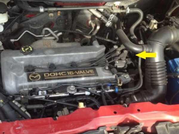 Мазда MPV двигатель