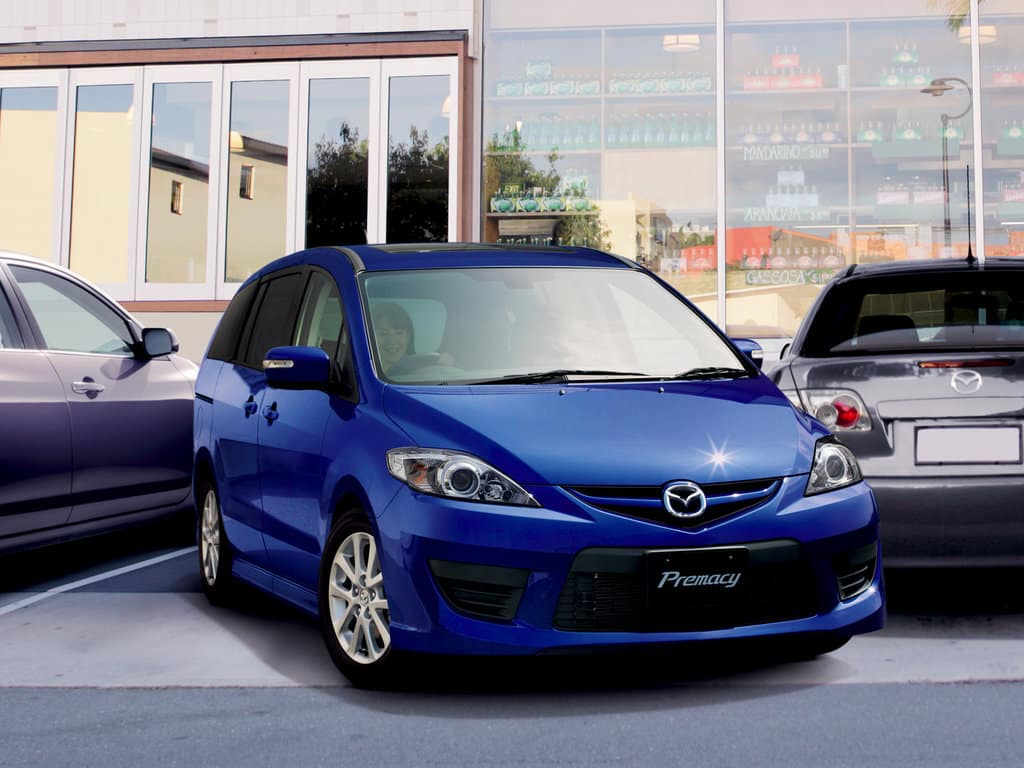 Mazda Premacy II (CR) рестайлинг (2007-2010)