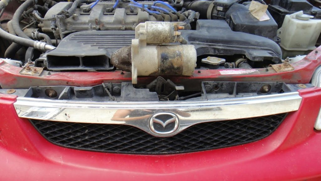 Стартер на Mazda Premacy
