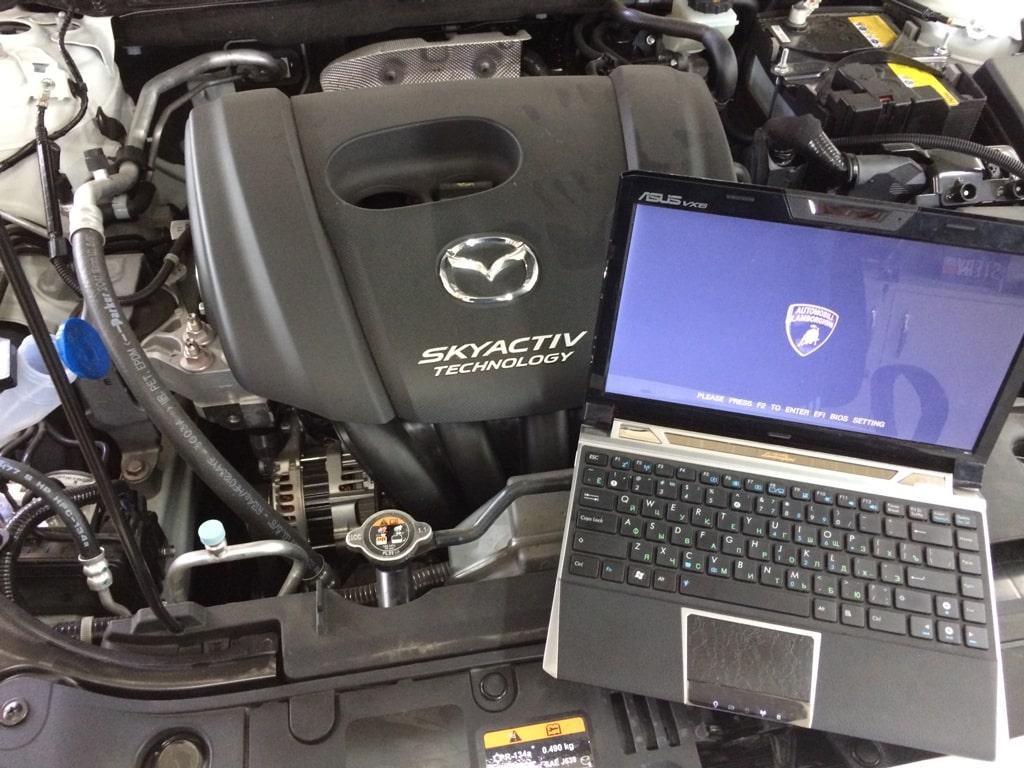 Mazda Premacy ремонт