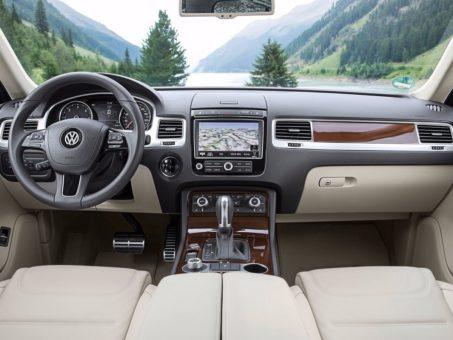 Салон внедорожника Volkswagen Touareg