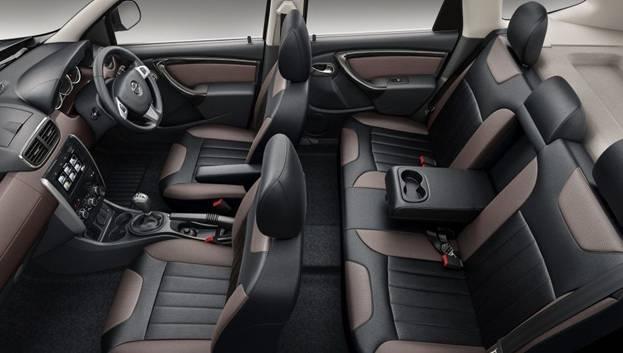 Салон внедорожника Nissan Terrano