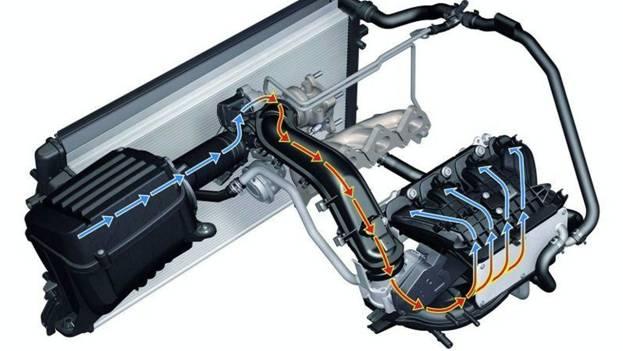 Система для снижения температуры корпуса мотора